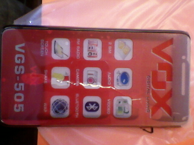 vox mobile vgs 505 review