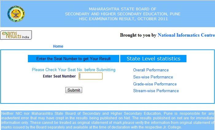 hsc examination result october 2011