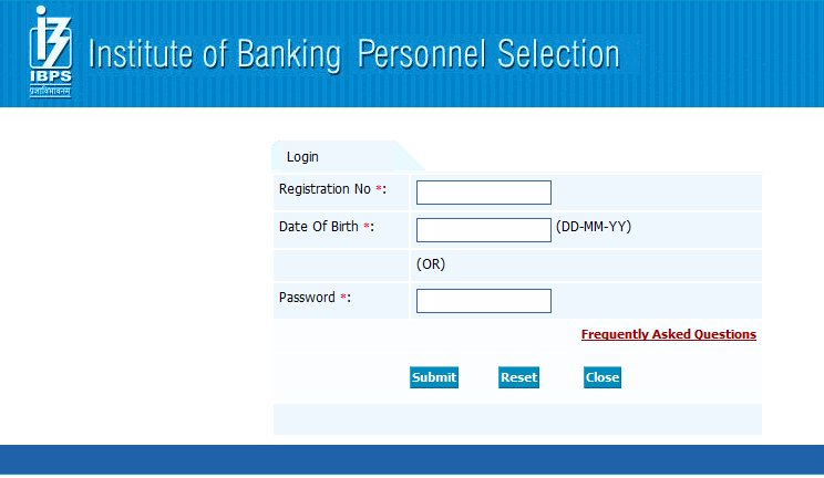 ibps call letter 2011 download