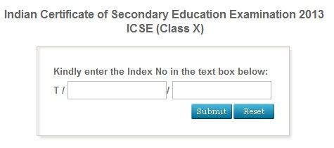 icse isc 2013 result