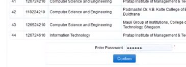 Direct second year engineering admission 2013