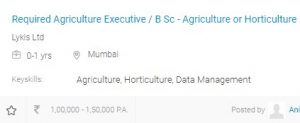 B.Sc. Agriculture course, scope, career and salary