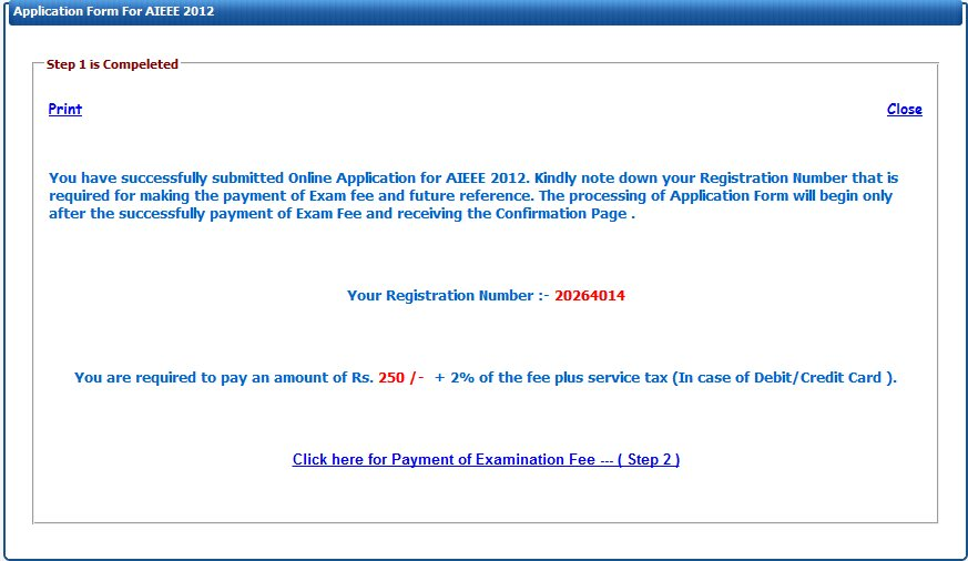 aieee 2012 application form
