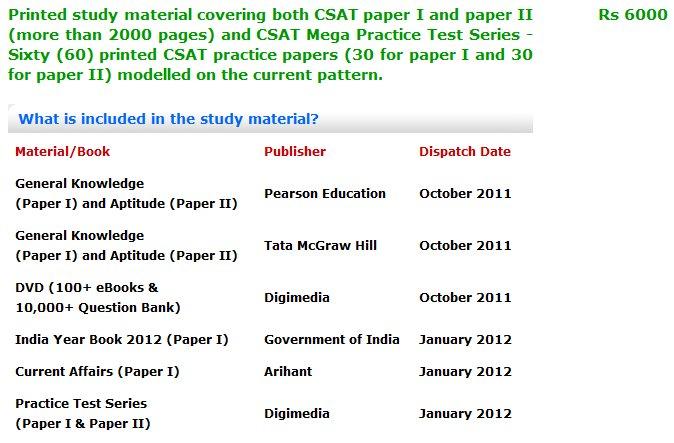 csat 2012 upsc civil services syllabus