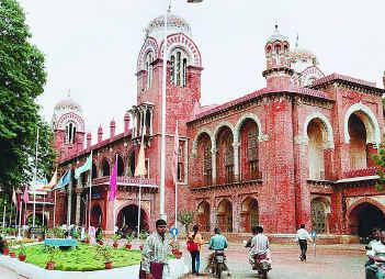 Madras University admissions 2012