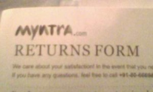 Myntra reviews